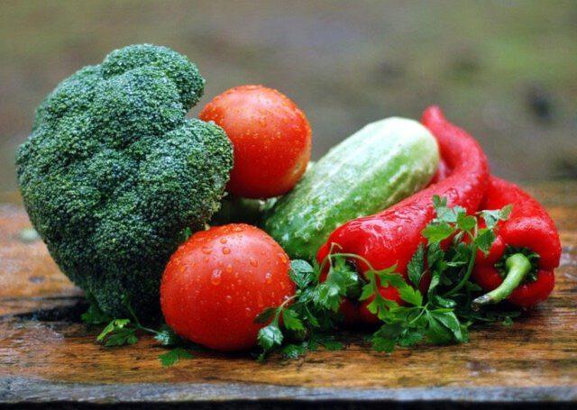 Smaczne warzywa z domowego ogrodu